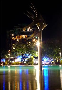 Lagoon date night in Australia